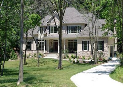 outside of home - Monogram Homes - Hebron Ohio and Westerville Ohio