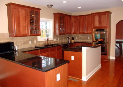kitchen build - Monogram Homes - Hebron Ohio and Westerville Ohio