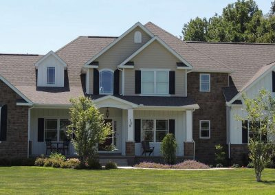 A custom home by Monogram - Monogram Homes - Hebron Ohio and Westerville Ohio
