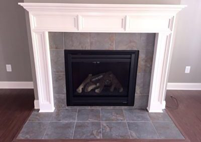 (19)-Monogram Home stone fireplace - Monogram Homes - Hebron Ohio and Westerville Ohio